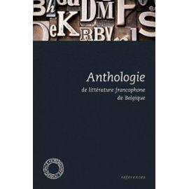 anthologie-de-litterature-francophone-de-belgique