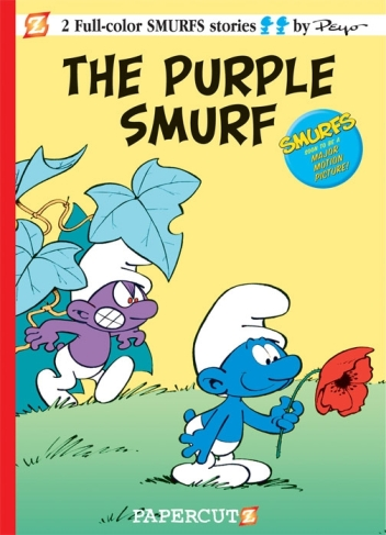 the-Purple-Smurf-papercutz-Peyo1